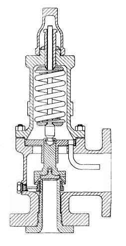 conventional safety relief valve diagram
